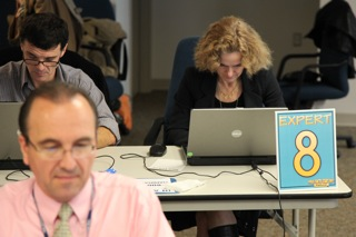Photo of NIDA staff during Chat Day
