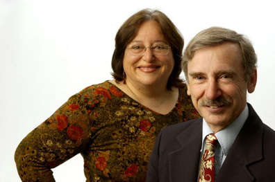 Dr. Linda Dwoskin and Dr. Peter A. Crooks