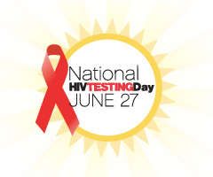 National AIDS Testing day logo