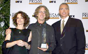 NIDA Director Nora D. Volkow, M.D., Actor Andy Dick, and Dr. Drew