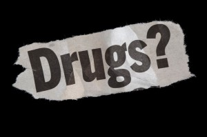 Graphic that says Drugs?