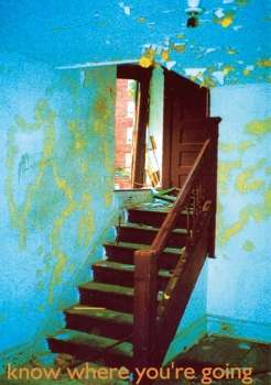 Stairwell in run down building