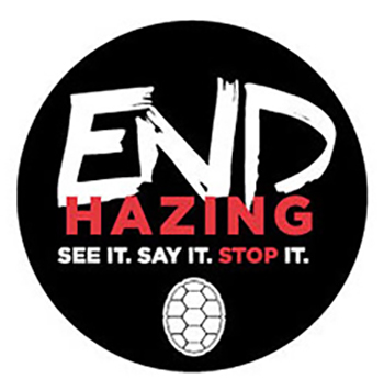 End Hazing banner