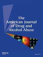 The American Journal of Drug and Alcohol Abuse publication cover