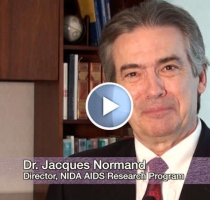 Dr. Jacques Normand discusses the NIDA Avant-Garde Award program